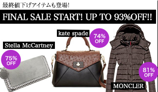 ★FINAL SALE START! UP TO 93%OFF!!