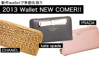 ★2013 Wallet NEW COMER!!