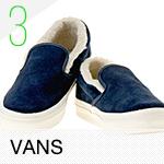 3位:VANS / バンズ